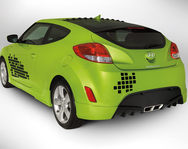 Body Kit - Rear Skirt (Sunflower)